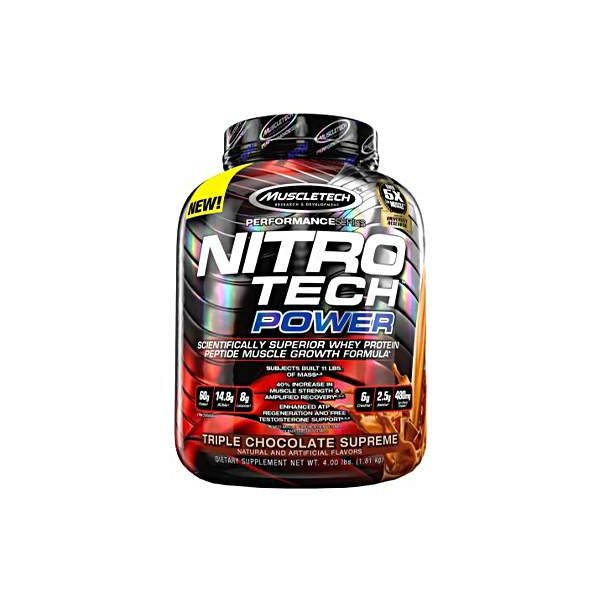 Buy MUSCLETECH® Performance Series NITRO-TECH POWER (Ultimate Muscle Amplifing Protein) 4 LBS Price In Pakistan 2021 - www.arnutrition.pk is The Best Supplement Store In Pakistan Lahore