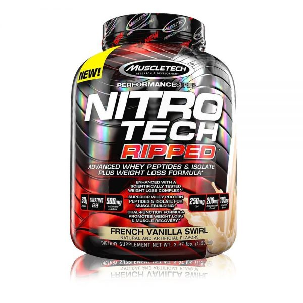Buy MUSCLETECH® Performance Series NITRO-TECH RIPPED Ultimate Protein + Weight Loss Formula 4 LBS Price In Pakistan 2021 - www.arnutrition.pk is The Best Supplement Store In Pakistan Lahore