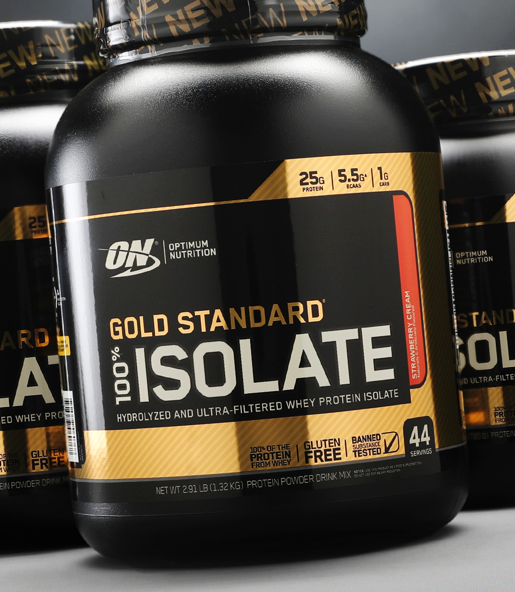Buy OPTIMUM NUTRITION ON Gold Standard 100% Isolate Whey Protein 44 Servings in All Over Pakistan 2021
