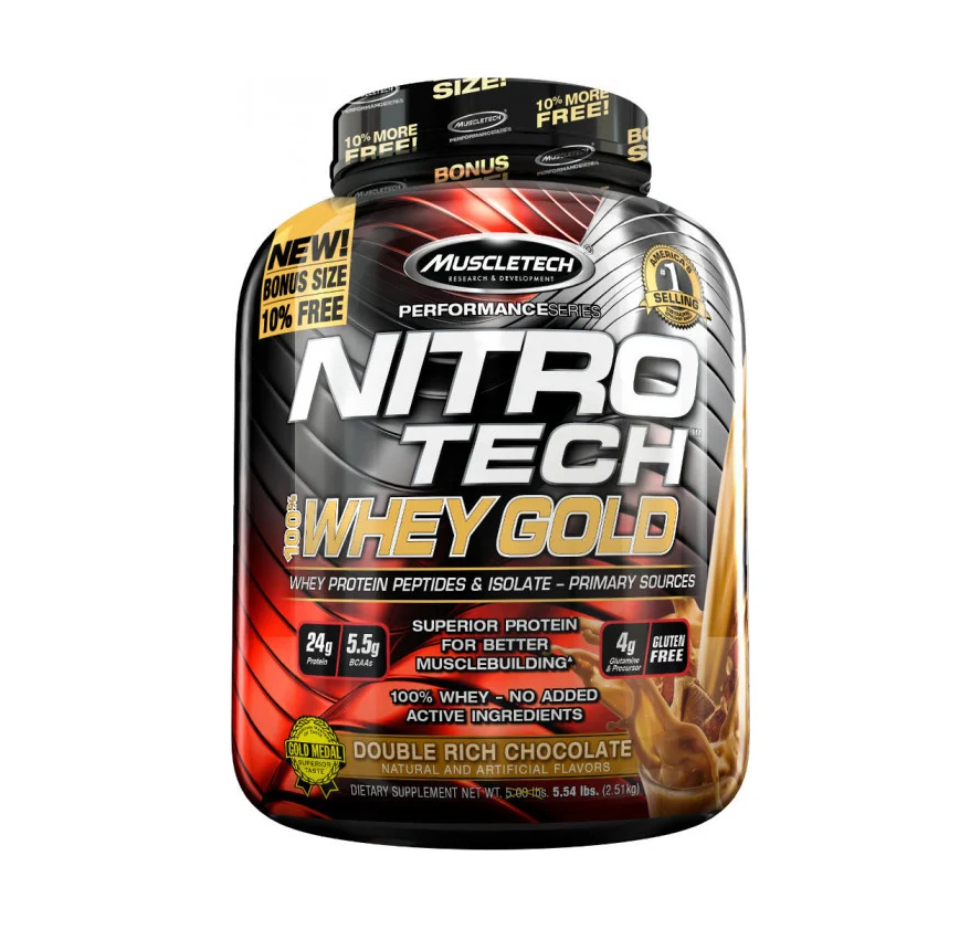 Buy MUSCLETECH® Performance Series NITRO-TECH 100% Whey Gold Protein Peptides & Isolate All Over Lahore Pakistan 2021, NITRO-TECH Whey Gold 5.5 LBS Price In Pakistan, www.arnutrition.pk iS The Best Food Supplements Store