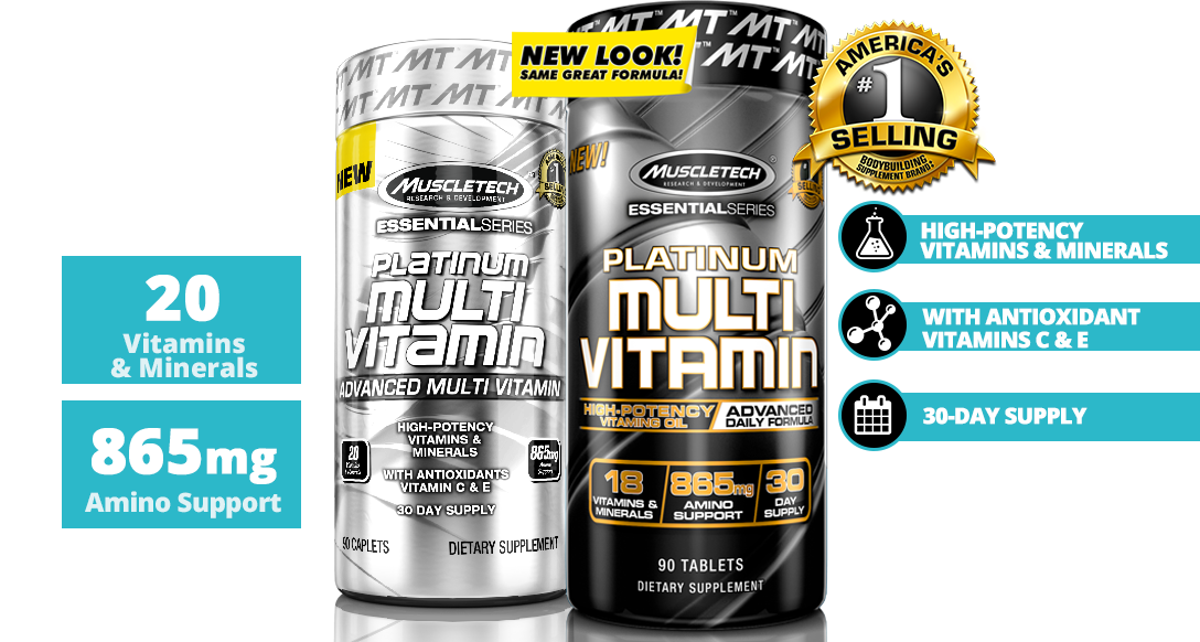 Nutrition Facts MUSCLETECH® Essential Series Platinum Multivitamin In 90 Tablets In All Over Lahore Pakistan 2021, www.arnutrition.pk iS The Best Food Supplements Store In Lahore Pakistan 2021
