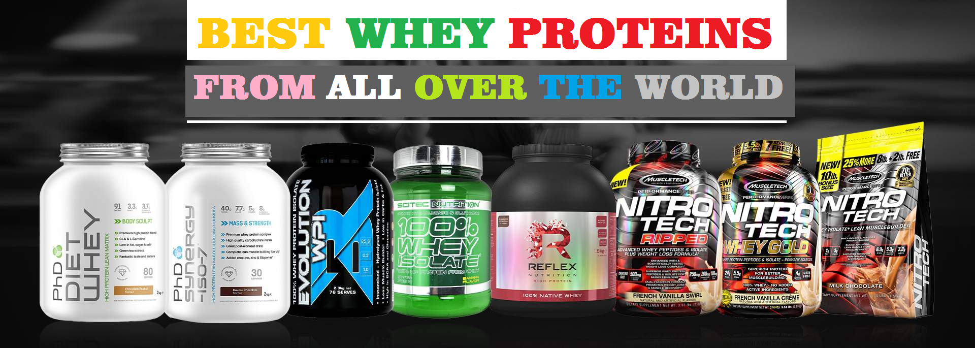 BEST WHEY PROTEINS FROM ALL OVER THE WORLD At www.arnutrition.pk