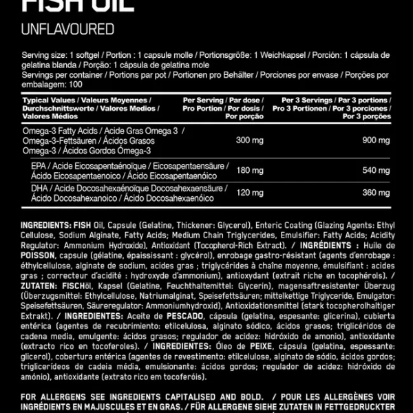 Nutrition Optimum Nutrition Enteric-Coated Omega-3 Fish Oil Softgels In All Over Lahore Pakistan 2021, Omega3 100 And 200 Softgels Price In Pakistan, www.arnutrition.pk iS The Best Food Supplements Store