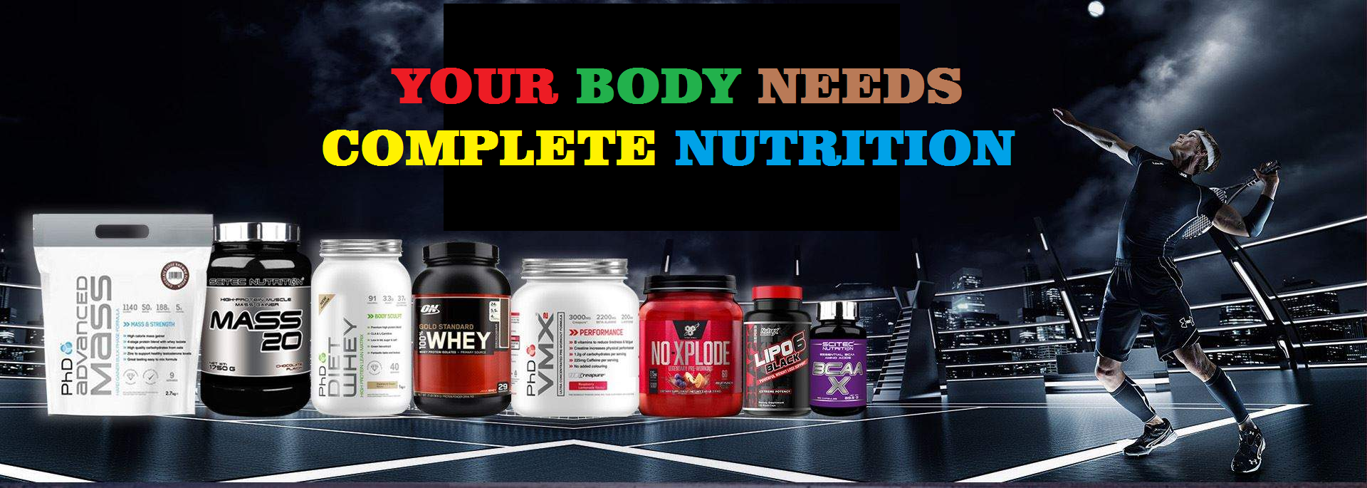 Your Body needs Complete Nutrition At www.arnutrition.pk