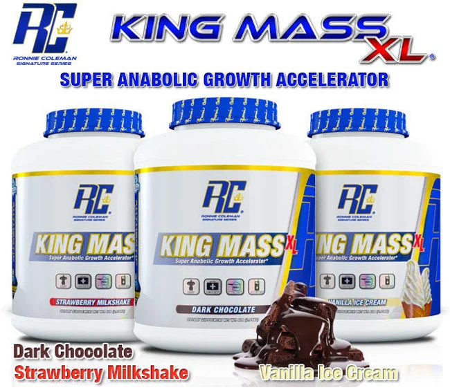 Buy Ronie Coleman King Mass XL Super Anabolic Growth Accelrator 6, 10, 15, 20 LBS All Over In Lahore Pakistan 2021, www.arnutrition.pk iS The Best Food Supplements Store In Lahore Pakistan