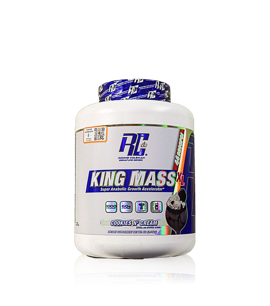 Buy Ronie Coleman King Mass XL Super Anabolic Growth Accelrator 6 LBS All Over In Lahore Pakistan 2021, www.arnutrition.pk iS The Best Food Supplements Store In Lahore Pakistan