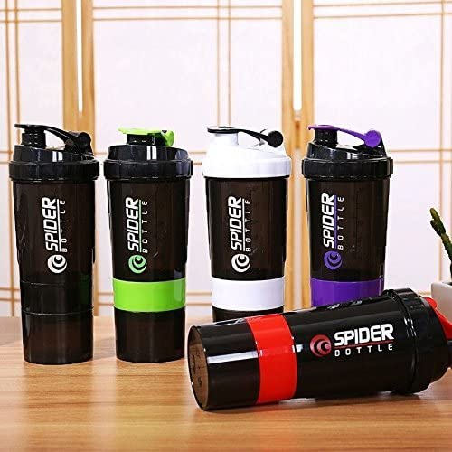 Buy Combo of Spider Protein Shaker Bottle 500ML With 2 Storage Extra Compartment All Over In Lahore Pakistan 2021, www.arnutrition.pk iS The Best Food Supplements Store In Lahore Pakistan 1