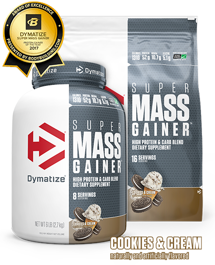 Buy Dymatize Super Mass Gainer in Cookies & Cream 6 LBS 12 LBS All Over in Lahore Pakistan 2021, www.arnutrition.pk iS The Best Food Supplements Store In Lahore Pakistan