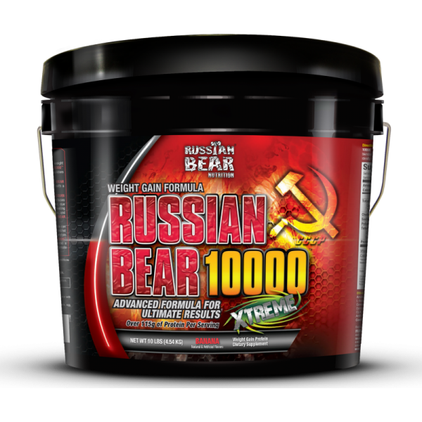 Buy Russian Bear 10000 Mass Gainer By Russian Bear Nutrition in 10 LBS All Over In Lahore Pakistan 2021, www.arnutrition.pk iS The Best Food Supplements Store In Lahore Pakistan