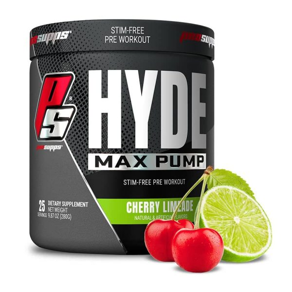 Buy ProSupps Hyde Max Pump Pre-Workout in 25 Servings Cherry Limeade Flavor Flavor All Over In Lahore Pakistan 2021, www.arnutrition.pk iS The Best Food Supplements Store In Lahore Pakistan 2022
